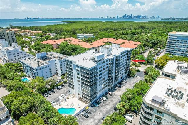 150 Ocean Lane Dr 6H, Key Biscayne, FL 33149 (MLS #A11106403) :: GK Realty Group LLC