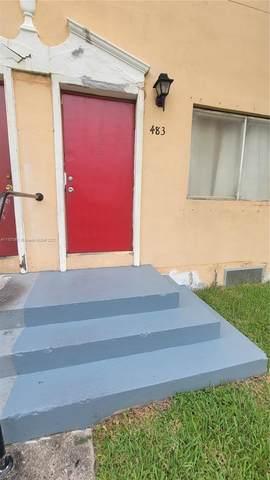 483 NW 84th Ln #483, Miami, FL 33150 (MLS #A11107061) :: Castelli Real Estate Services