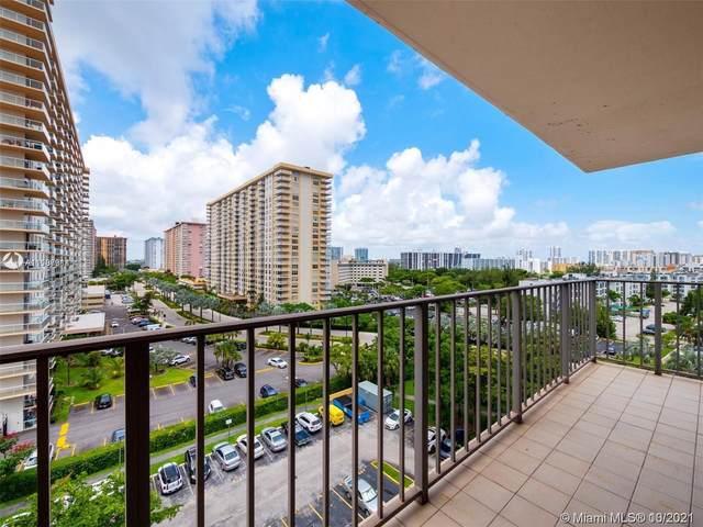 210 174th St #910, Sunny Isles Beach, FL 33160 (MLS #A11107314) :: Berkshire Hathaway HomeServices EWM Realty