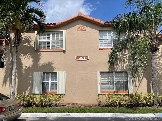 301 SW 86th Ave #104, Pembroke Pines, FL 33025 (MLS #A11108321) :: Green Realty Properties