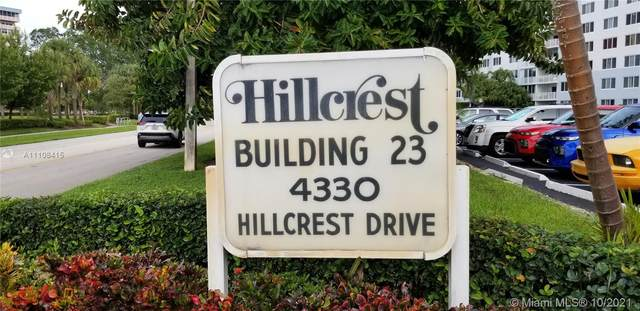 4330 Hillcrest Dr #303, Hollywood, FL 33021 (MLS #A11108415) :: Green Realty Properties