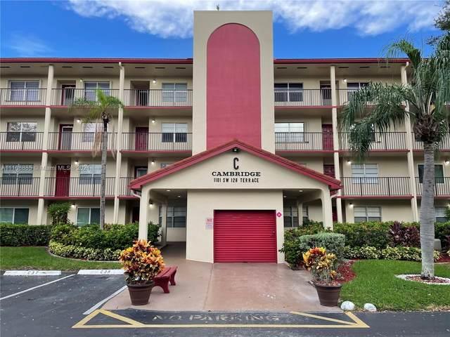 1101 SW 128th Ter 309C, Pembroke Pines, FL 33027 (MLS #A11108885) :: Re/Max PowerPro Realty