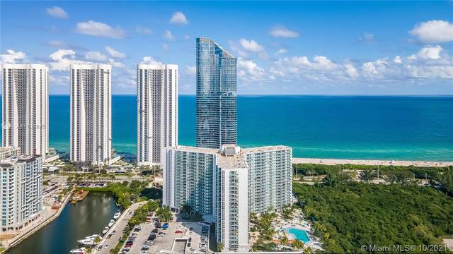 100 Bayview Dr #1425, Sunny Isles Beach, FL 33160 (MLS #A11108925) :: The Teri Arbogast Team at Keller Williams Partners SW