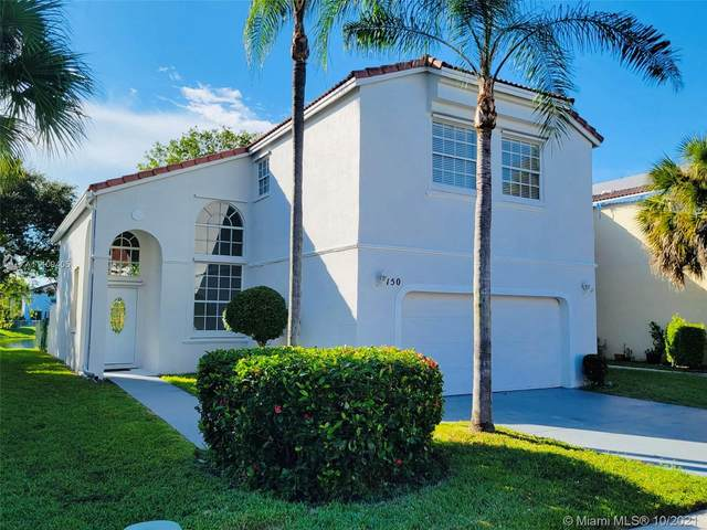 150 NW 151st Ave, Pembroke Pines, FL 33028 (MLS #A11109405) :: Re/Max PowerPro Realty