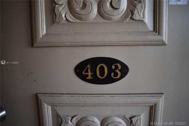 3905 N Nob Hill Rd #403, Sunrise, FL 33351 (MLS #A11109694) :: The MPH Team
