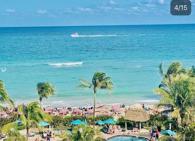 3901 S Ocean Dr 7L, Hollywood, FL 33019 (MLS #A11109782) :: Green Realty Properties