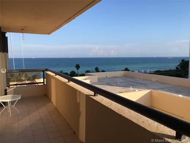2555 Collins Ave #714, Miami Beach, FL 33140 (MLS #A11109804) :: Castelli Real Estate Services