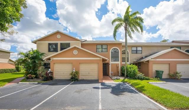 10580 NW 6th St #10580, Pembroke Pines, FL 33026 (MLS #A11109998) :: Berkshire Hathaway HomeServices EWM Realty