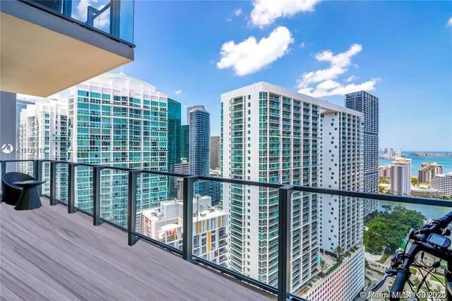 68 SE 6th St #2909, Miami, FL 33131 (MLS #A11110511) :: Berkshire Hathaway HomeServices EWM Realty