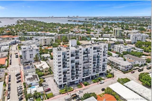 7850 Byron Ave #605, Miami Beach, FL 33141 (MLS #A11110569) :: Berkshire Hathaway HomeServices EWM Realty