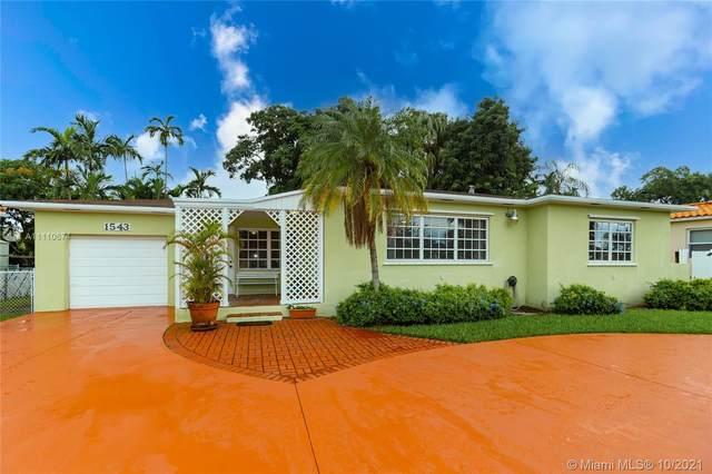 1543 Westward Dr, Miami Springs, FL 33166 (MLS #A11110674) :: Rivas Vargas Group