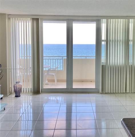 3180 S Ocean Dr #1615, Hallandale Beach, FL 33009 (MLS #A11110730) :: Castelli Real Estate Services