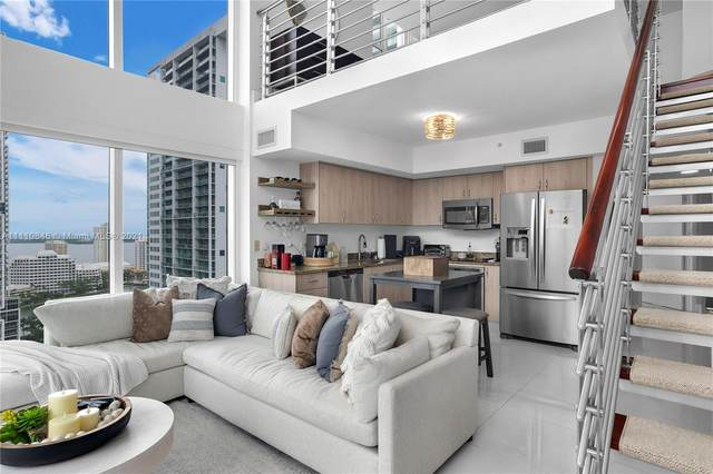 41 SE 5th St #1501, Miami, FL 33131 (MLS #A11110846) :: The Jack Coden Group