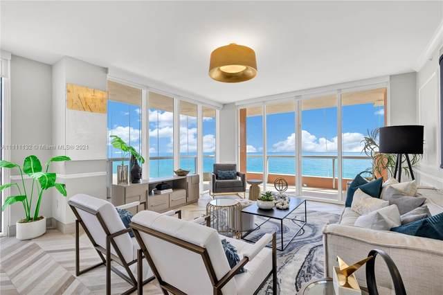 17875 Collins Ave #901, Sunny Isles Beach, FL 33160 (MLS #A11111132) :: Berkshire Hathaway HomeServices EWM Realty