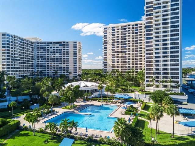 600 Three Islands Blvd #1510, Hallandale Beach, FL 33009 (MLS #A11111245) :: Green Realty Properties
