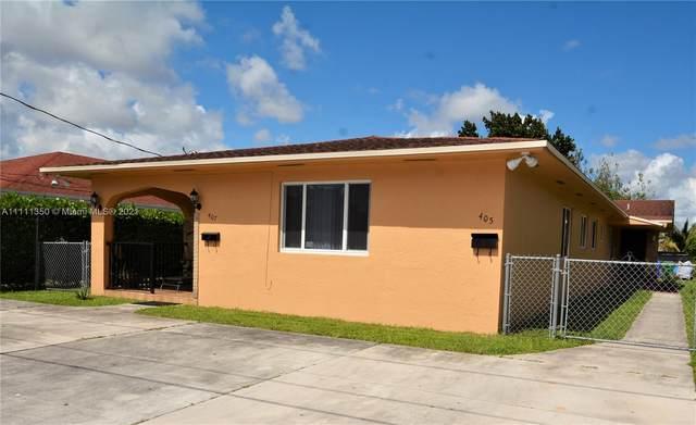 405 NW 52nd St, Miami, FL 33127 (MLS #A11111350) :: Berkshire Hathaway HomeServices EWM Realty