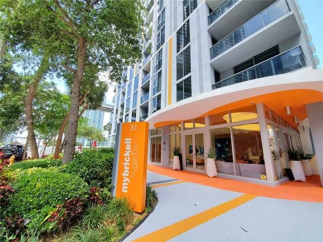 31 SE 6th St #505, Miami, FL 33131 (MLS #A11111410) :: The MPH Team