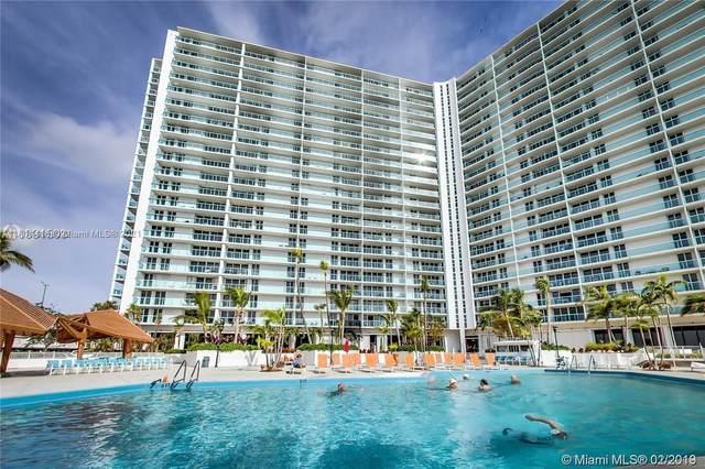 100 Bayview Dr #1122, Sunny Isles Beach, FL 33160 (MLS #A11111416) :: The MPH Team