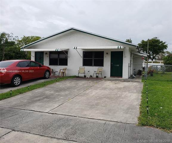 1100-1102 N 61st Ave, Hollywood, FL 33024 (MLS #A11111443) :: Green Realty Properties