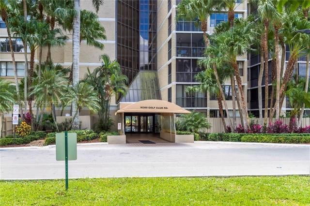 16300 Golf Club Rd #314, Weston, FL 33326 (MLS #A11111496) :: Albert Garcia Team