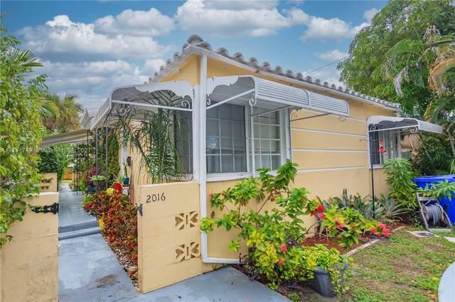 2016 Pierce St, #1-2, Hollywood, FL 33020 (MLS #A11111749) :: Green Realty Properties