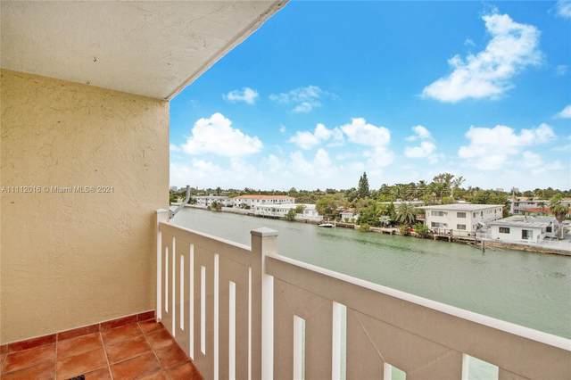 7900 Tatum Waterway Dr #408, Miami Beach, FL 33141 (MLS #A11112016) :: Green Realty Properties