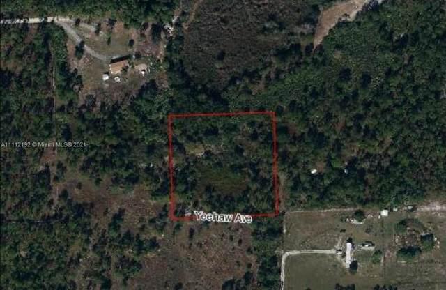 5370 PIONEER 19TH ST, Clewiston, FL 33440 (MLS #A11112192) :: Jose Laya