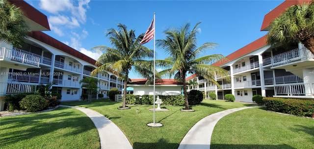 580 Egret Dr #322, Hallandale Beach, FL 33009 (MLS #A11112502) :: Berkshire Hathaway HomeServices EWM Realty