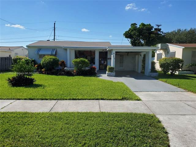 3218 Cleveland St, Hollywood, FL 33021 (MLS #A11112622) :: Re/Max PowerPro Realty