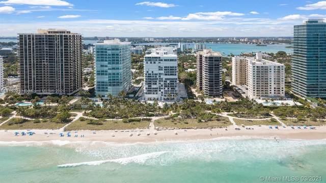 10155 Collins Ave #806, Bal Harbour, FL 33154 (MLS #A11112812) :: Jose Laya