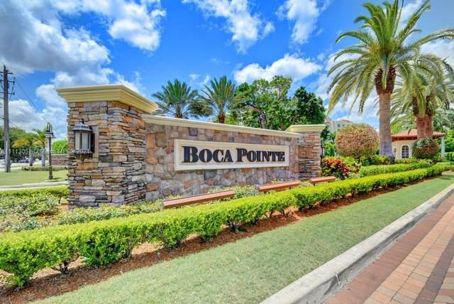 7202 Promenade Dr #101, Boca Raton, FL 33433 (#A11113051) :: Posh Properties