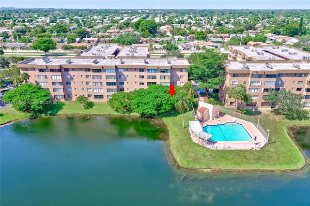 8020 Hampton Blvd #106, North Lauderdale, FL 33068 (MLS #A11113190) :: Dalton Wade Real Estate Group