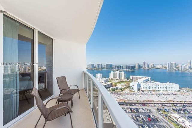 18001 Collins Ave #2504, Sunny Isles Beach, FL 33160 (MLS #A11113725) :: CENTURY 21 World Connection