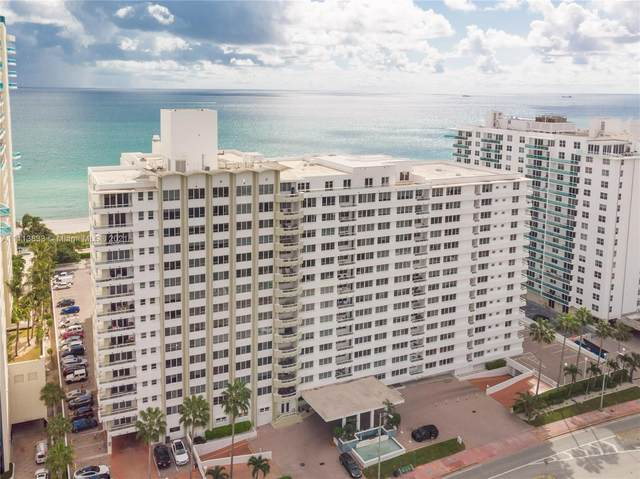 5005 Collins Ave #516, Miami Beach, FL 33140 (MLS #A11113833) :: Berkshire Hathaway HomeServices EWM Realty