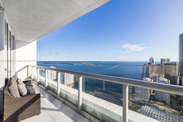 495 Brickell Ave #4203, Miami, FL 33131 (MLS #A11113859) :: Berkshire Hathaway HomeServices EWM Realty
