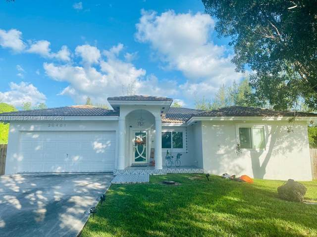 20401 SW 79th Ave, Cutler Bay, FL 33189 (MLS #A11113883) :: Green Realty Properties
