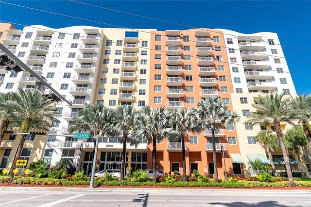 18800 NE 29th Ave #419, Aventura, FL 33180 (MLS #A11114108) :: Green Realty Properties