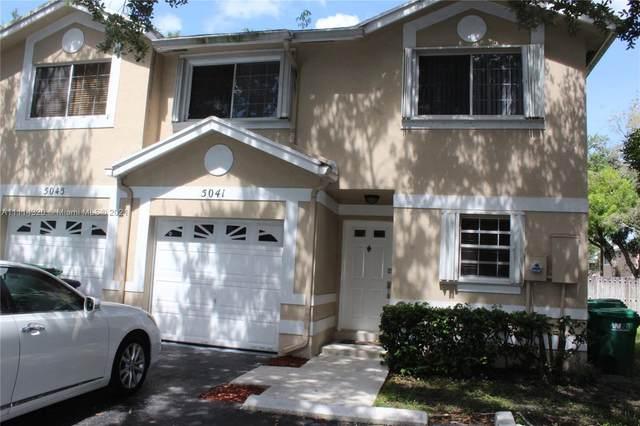5041 SW 121st Ter, Cooper City, FL 33330 (MLS #A11114320) :: Green Realty Properties