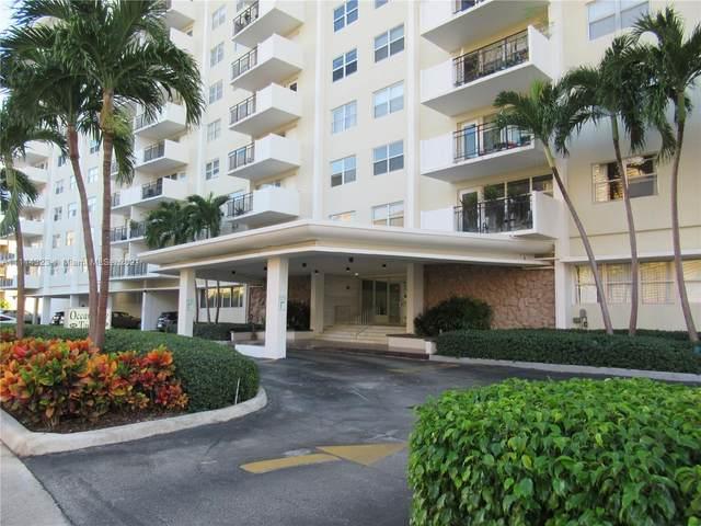 401 Golden Isles Dr #203, Hallandale Beach, FL 33009 (MLS #A11114323) :: Green Realty Properties