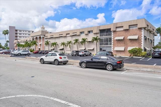 300 Golden Isles Drive #117, Hallandale Beach, FL 33009 (MLS #A11114396) :: Green Realty Properties