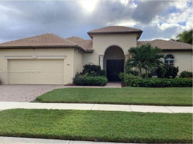 865 SW Grand Reserves Boulevard, Port Saint Lucie, FL 34986 (MLS #A11114408) :: Castelli Real Estate Services