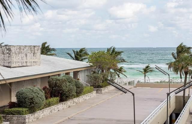 1980 S Ocean Dr 2F, Hallandale Beach, FL 33009 (MLS #A11114433) :: The Teri Arbogast Team at Keller Williams Partners SW