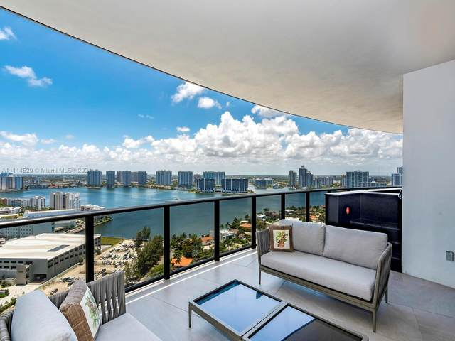 18555 Collins Ave #2503, Sunny Isles Beach, FL 33160 (MLS #A11114529) :: Green Realty Properties