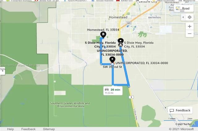 182nd RD SW 30-8801-000-3770, Homestead, Miami, FL 33034 (MLS #A11114615) :: The MPH Team