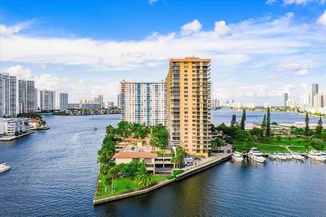 290 174th St M18, Sunny Isles Beach, FL 33160 (MLS #A11114682) :: Jose Laya