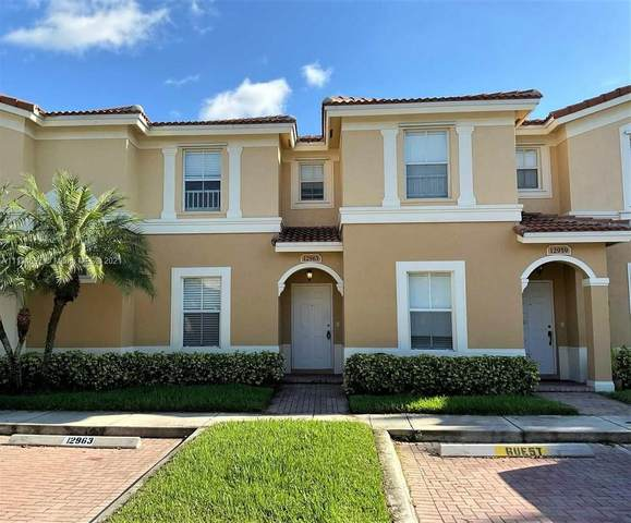 12963 SW 30th Street #102, Miramar, FL 33027 (MLS #A11114697) :: Castelli Real Estate Services