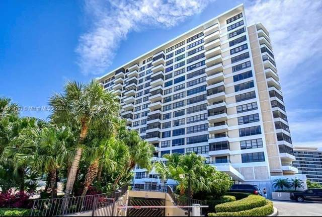 2500 Parkview #2119, Hallandale Beach, FL 33009 (MLS #A11114793) :: Berkshire Hathaway HomeServices EWM Realty