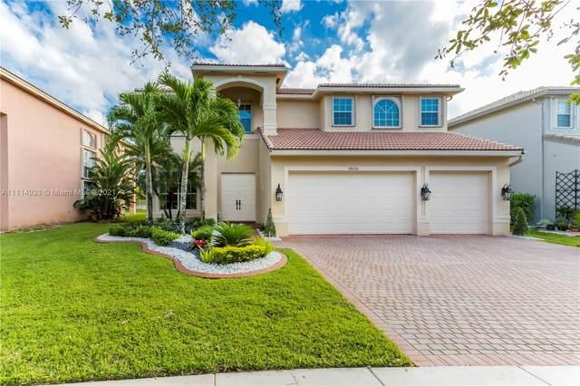 18632 SW 55th St, Miramar, FL 33029 (MLS #A11114933) :: Green Realty Properties