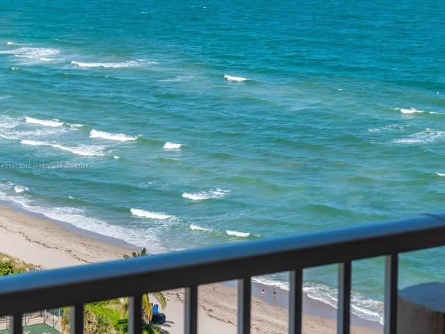 1950 S Ocean Dr 20D, Hallandale Beach, FL 33009 (MLS #A11115015) :: Green Realty Properties