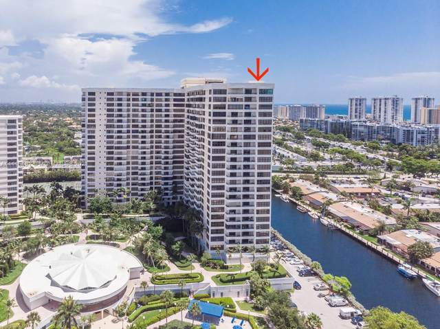 2500 Parkview Dr #2501, Hallandale Beach, FL 33009 (MLS #A11115481) :: Lana Caron Group